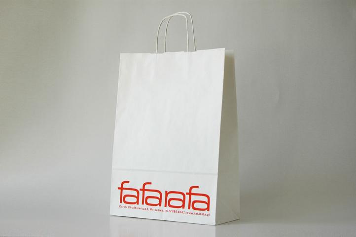 d697ac339b507 Białe torby papierowe | TanieTorby.pl